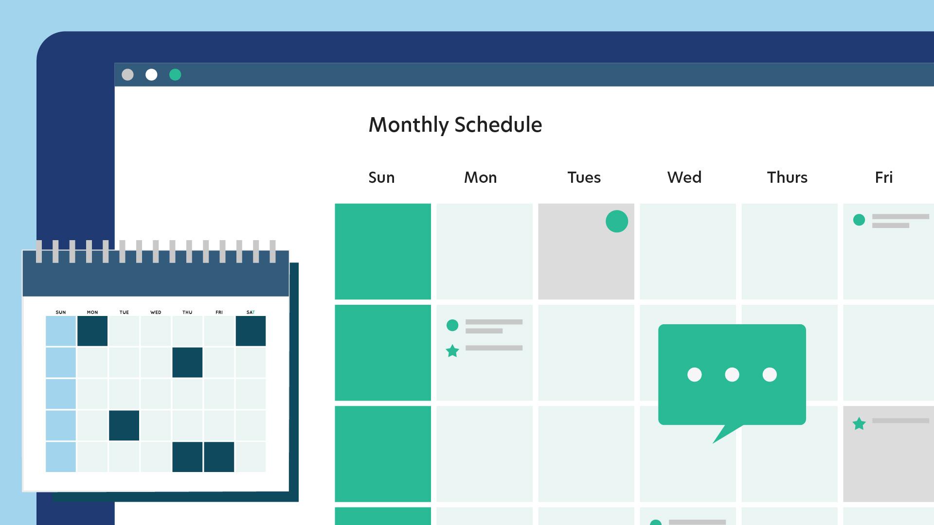 truested feature calendar